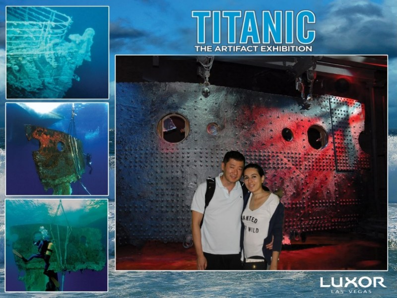 Titanic The Artifact Exhibition Luxor Las Vegas