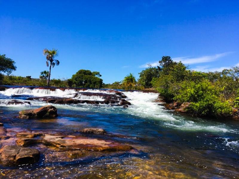 Cachoeira do Soninho / Rio Soninho (Foto: Tatiana Pires)