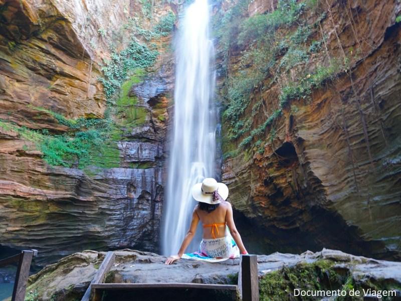 Cachoeira de Santa Barbara - Chapada das Mesas