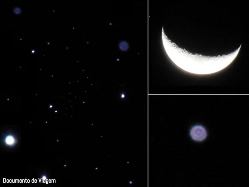 Céu estrelado em Atacama