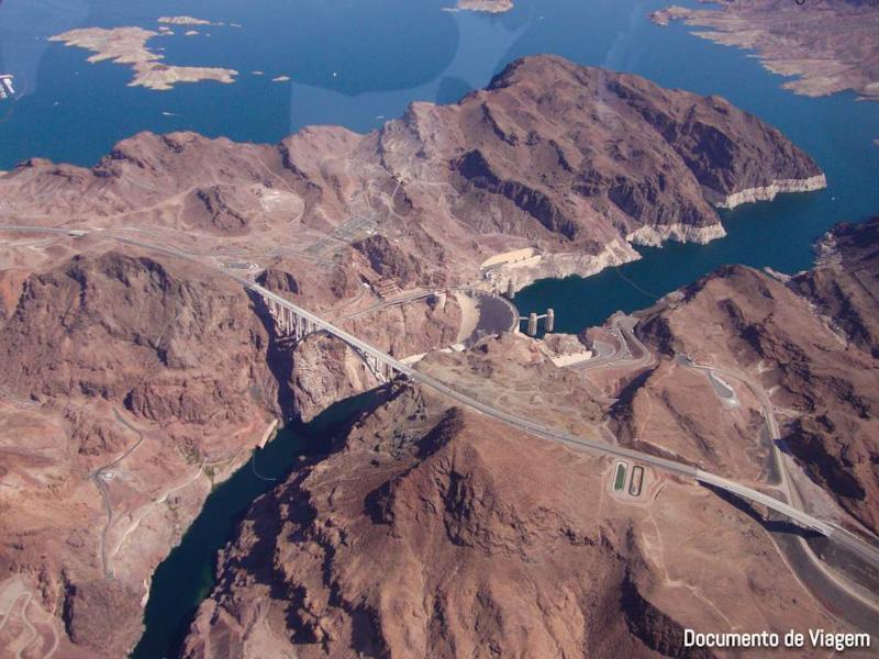 Hoover Dam hidrelétrica