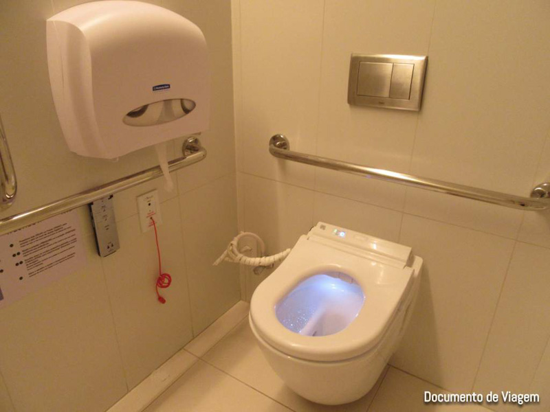 Banheiro da Japan House
