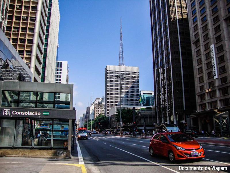 Metrô Consolação Avenida Paulista