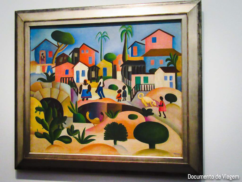 Morro da Favela - Tarsila do Amaral (1924)