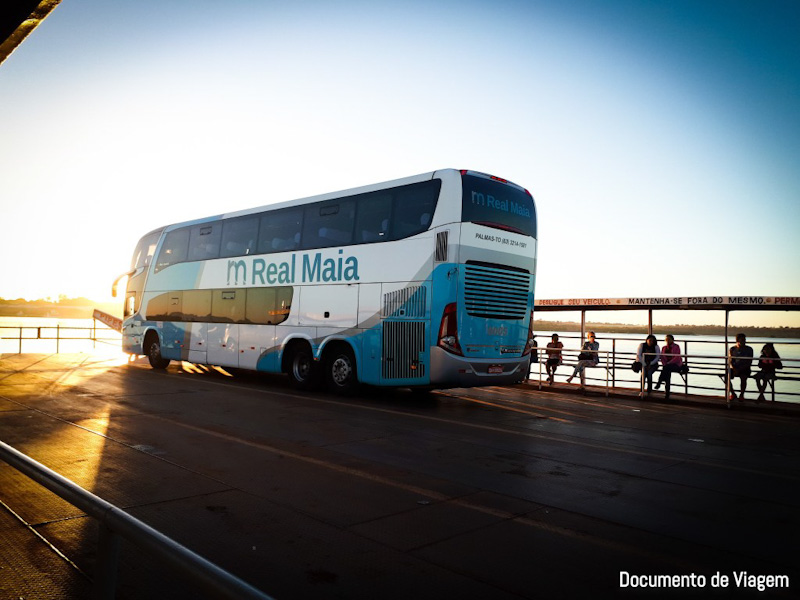 Ônibus leito daempresa Real Maia