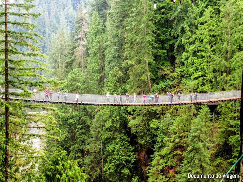 Ponte Suspensa Capilano
