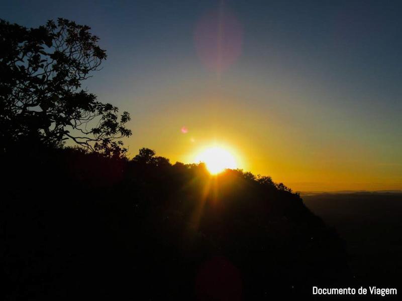 Nascer do Sol no Morro do Chapéu