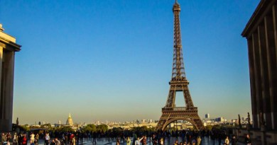 Onde fica a Torre Eiffel