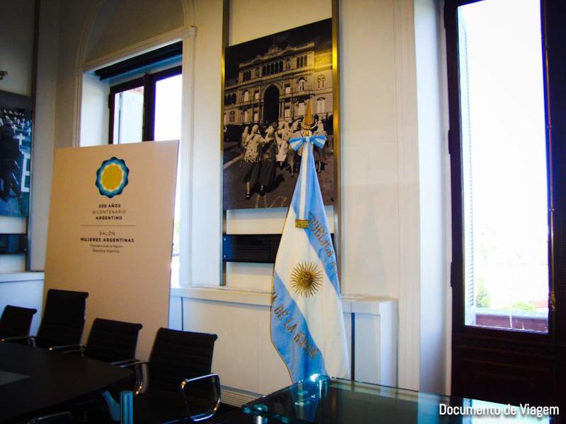 Casa Rosada sala presidencial