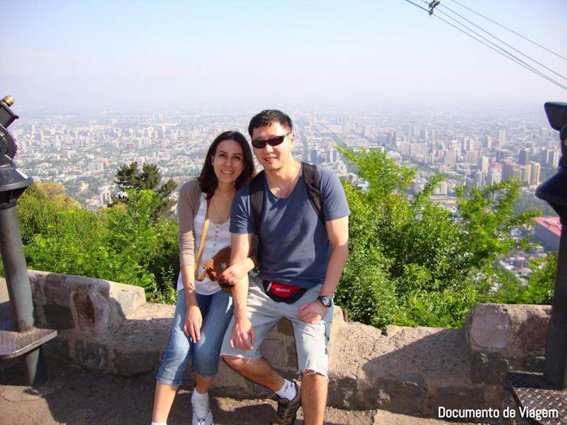 Santiago do Chile como ir