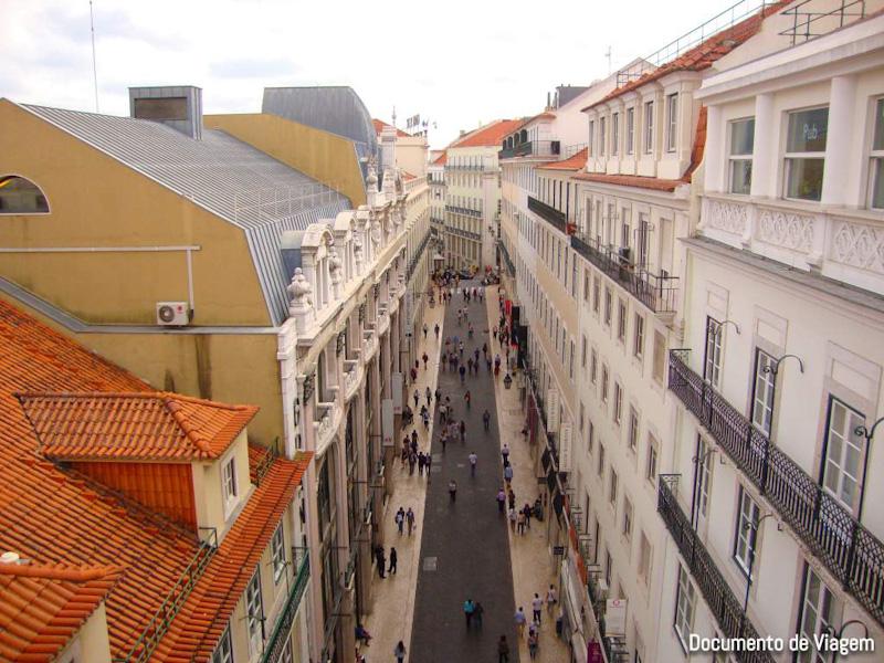Rua Augusta Miradouros Lisboa