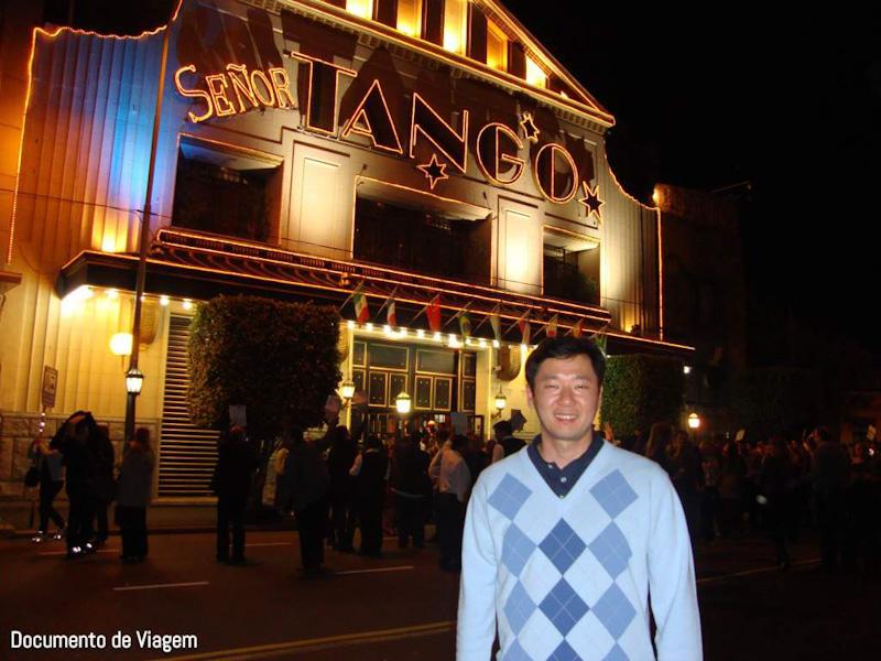 Entrada Señor Tango