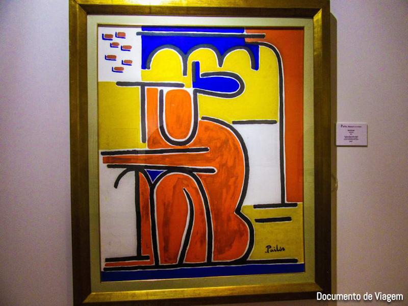 Desnudo Manuel Pailós Museu de Arte Ralli