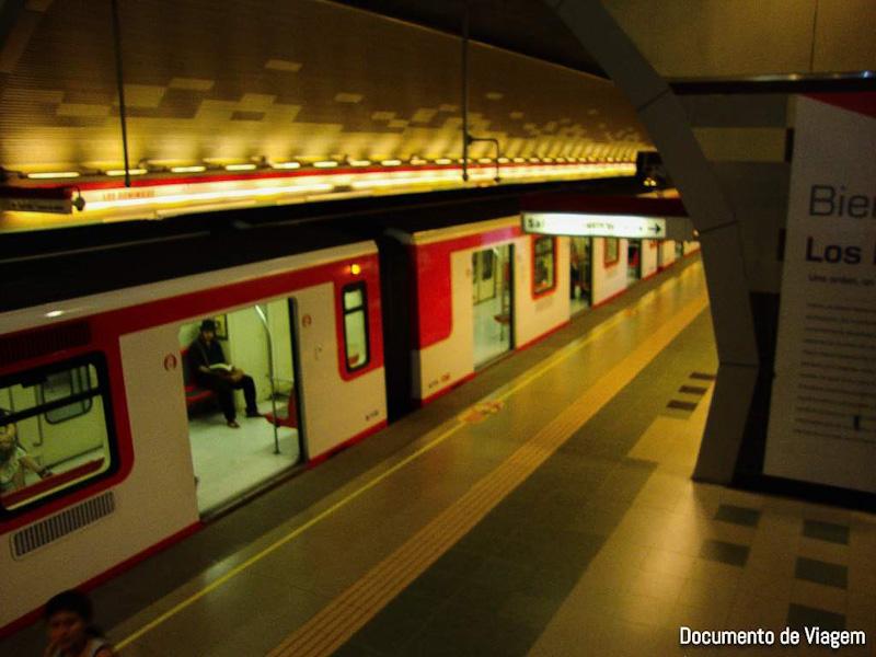 Metrô Santiago do Chile