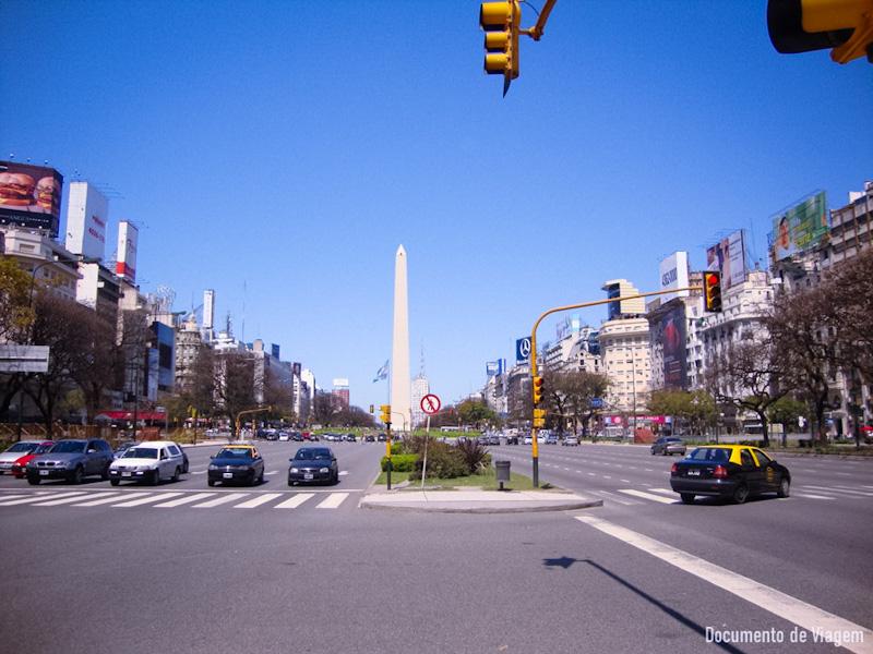 Avenida 9 Julho Buenos Aires