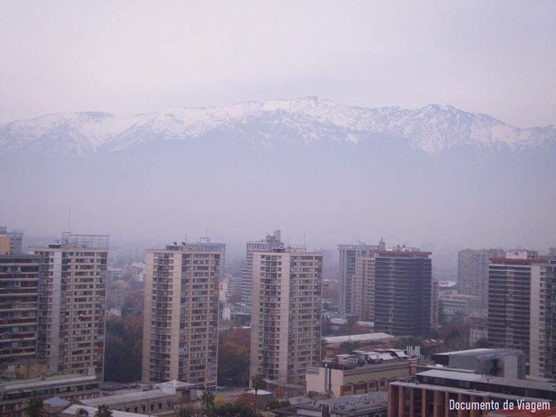 Onde fica Santiago do Chile
