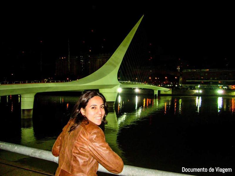 Ponte das Mulheres Puerto Madero