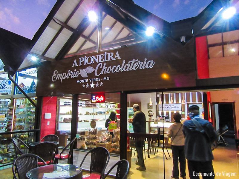 A pioneira Empório Chocolateria