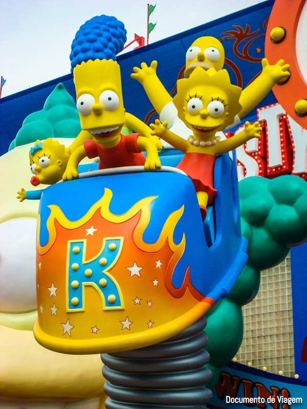Universal Studios Orlando The Simpsons Ride