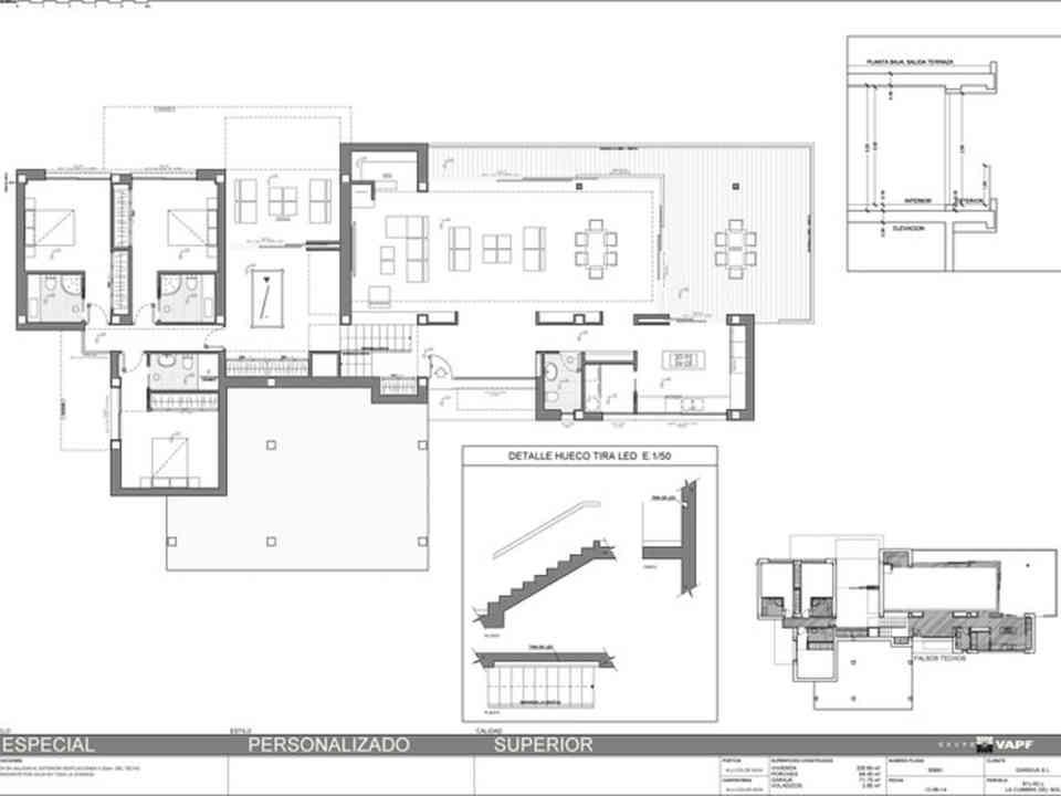 Maison Villa Ibiza villa en vente  Cumbre del Sol terrain al091 Lirios