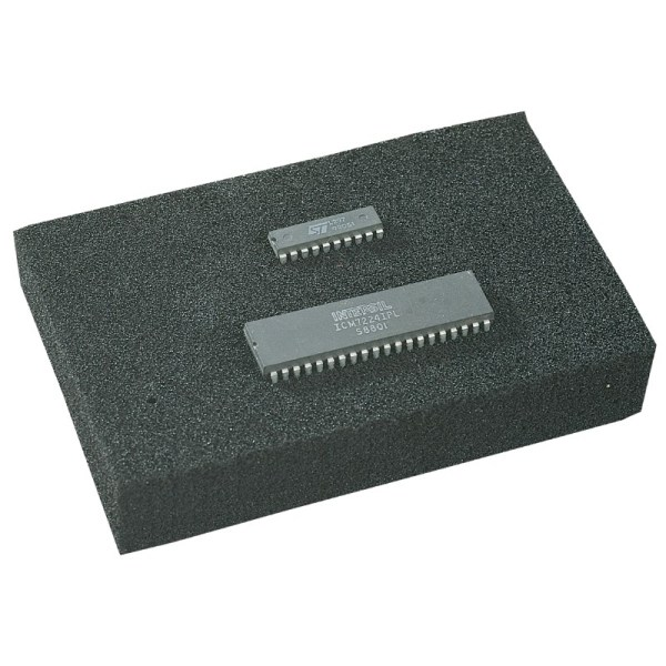 Desco - 12660 Statfree Conductive Foam High Density X-linked 1 4