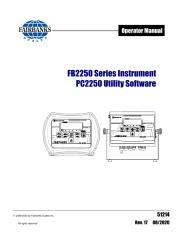 FB2250 ABS Series Instruments
