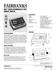 UPLI® 3052R Intinsically Safe Remote Display