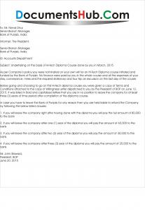 Undertaking Letter Format by Employee Sample