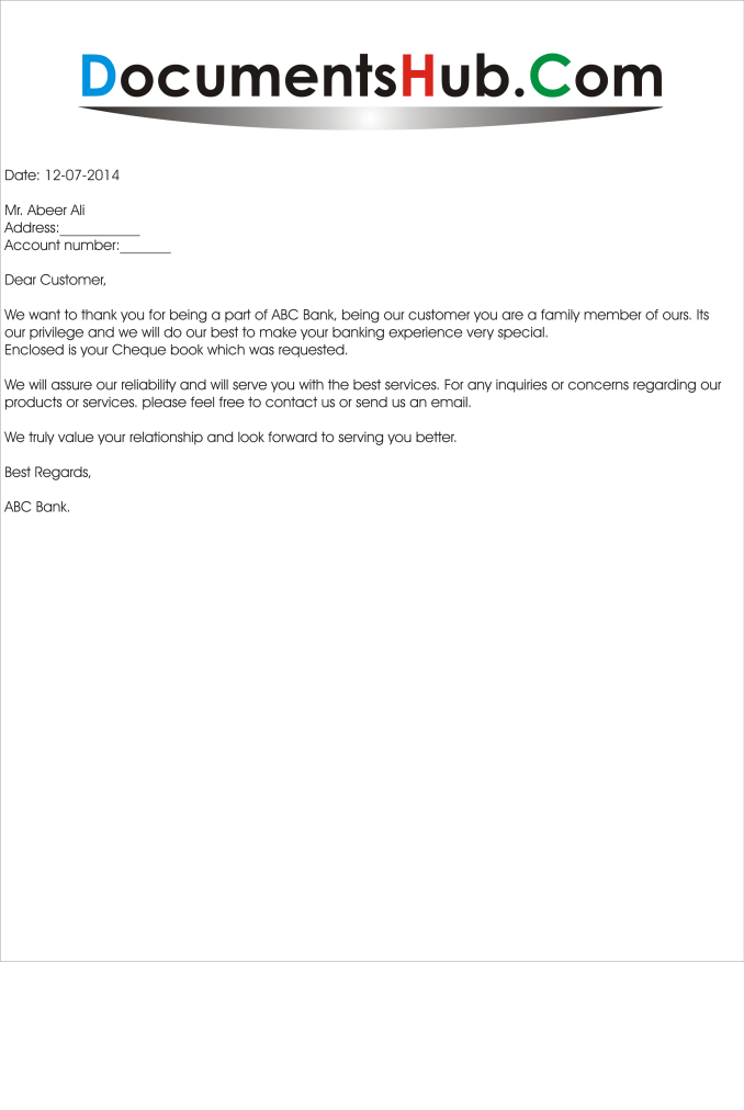Format of remittance letter to bank newsinvitation thank you letter from bank to customer doentshub com sample remittance spiritdancerdesigns Choice Image