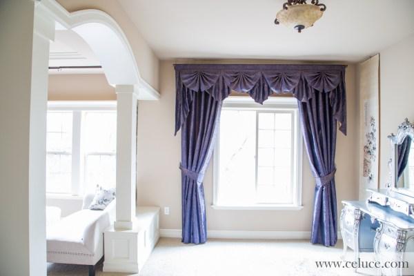 Renaissance Arabesque Paris Salon Cascade Valances Curtain
