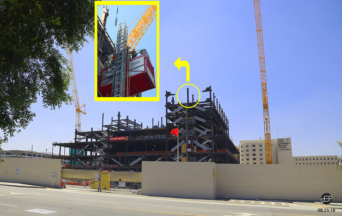 How do They do That? — Extend the Construction Elevator
