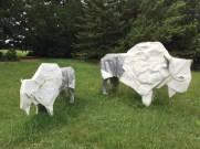 Origami bison!