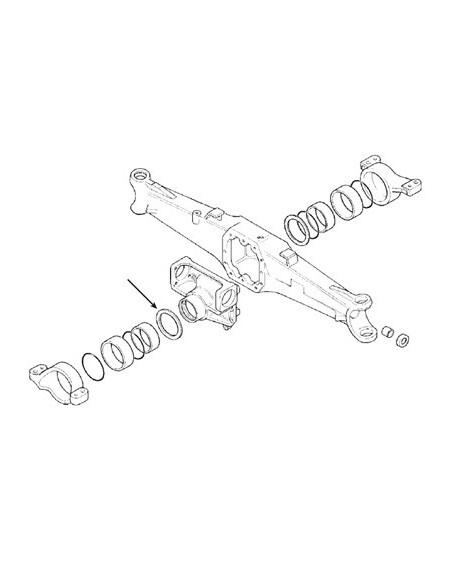 Thrust Washer Ø 105.5X145X5 mm 47109296, 83944351, 9967994