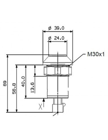 Intrerupator Circuit Hidraulic Deutz-Fahr 04412688