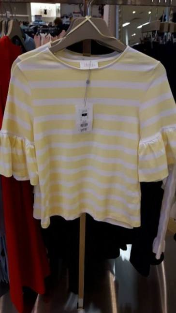 dunnes striped top