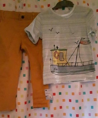 mcare jeans and tshirt