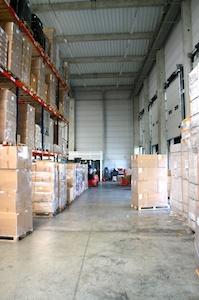 Bâtiment industriel SAS Intérieur