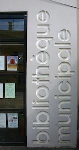 Bibliothèque Châtillon d'Azergues béton