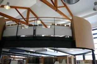 Bibliothèque Cours-la-Ville mezzanine