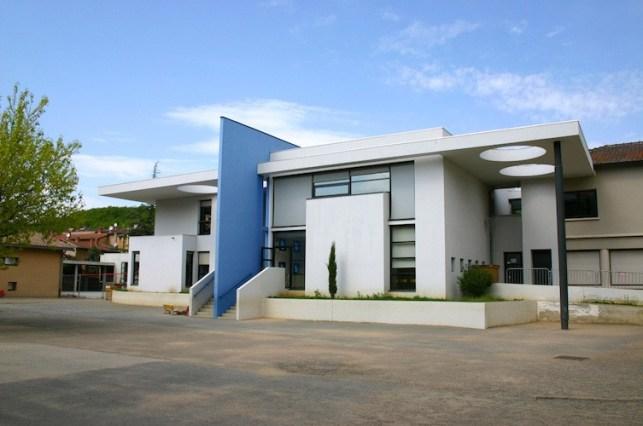 Collège Châtillon d'Azergues façade