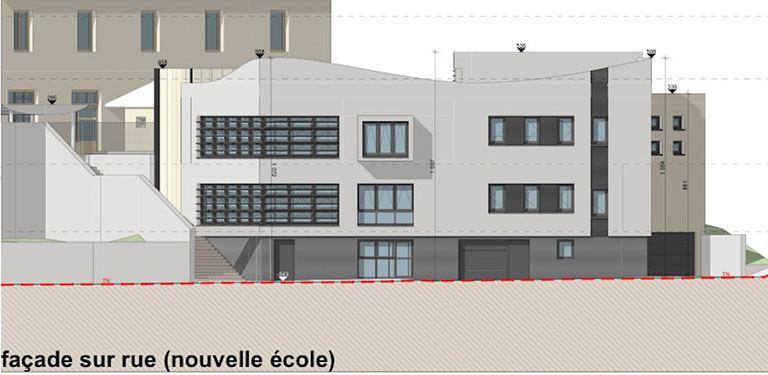 Ecole Le Cergne plan