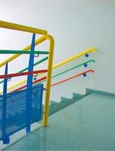 Ecole Saint Joseph des Brotteaux escalier