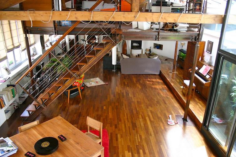 Loft Tronchet Lyon Intérieur