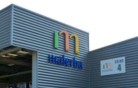 MALERBA usine n°4 logo