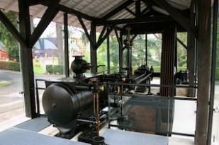 Machine vapeur Cours La Ville intérieur