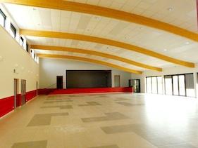 Salle Fêtes Fitilieu intérieur