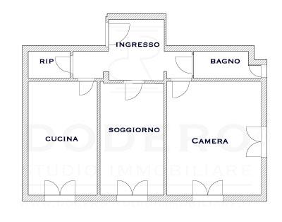 appartamento in vendita a sturla