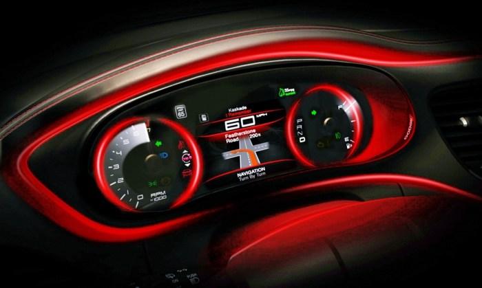 2022 Dodge Dart Interior