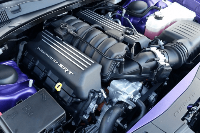 2019 Dodge Charger Scat Pack Engine