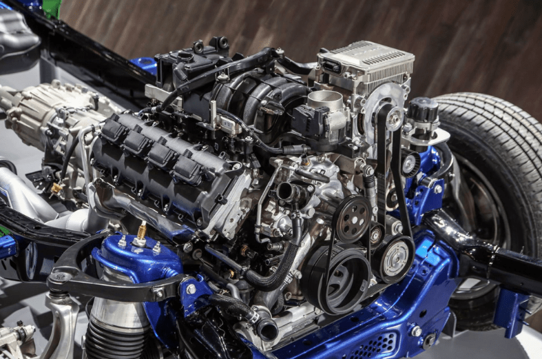 2019 Dodge Longhorn Engine